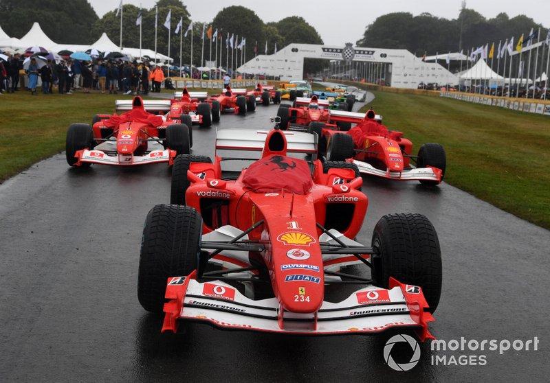 Ferrari Schumacher Celebration