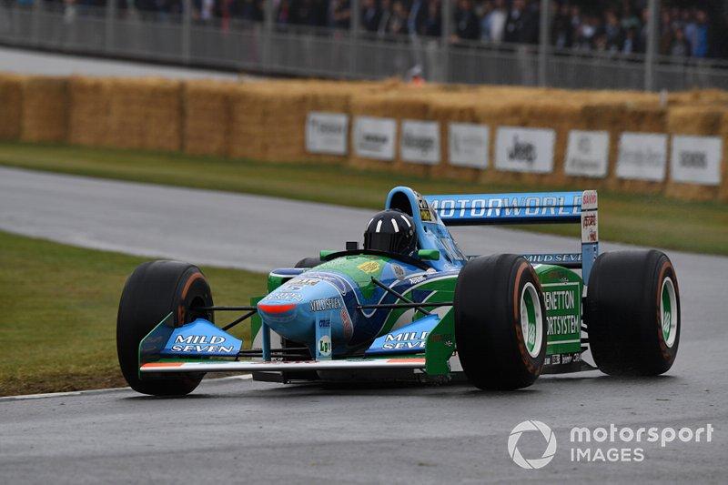 Benetton Damon Hill