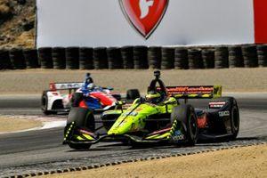 Sebastien Bourdais, Dale Coyne Racing with Vasser-Sullivan Honda, Tony Kanaan, A.J. Foyt Enterprises Chevrolet