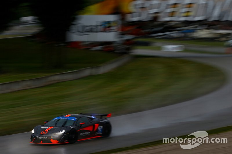 #75 Compass Racing McLaren GT4, GS: Paul Rees, Kuno Wittmer