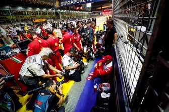 Charles Leclerc, Ferrari on the grid