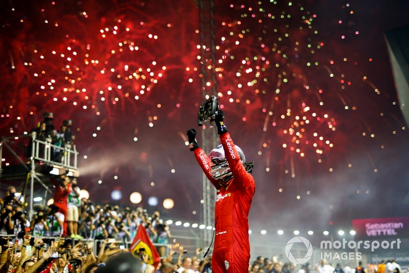 GP de Singapur, Sebastian Vettel, Ferrari