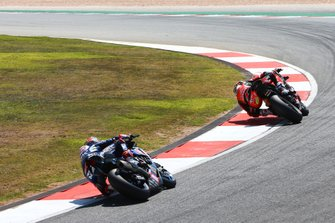 Chaz Davies, Aruba.it Racing-Ducati Team, Michael van der Mark, Pata Yamaha