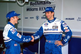 Damon Hill, Williams, Jacques Villeneuve, Williams