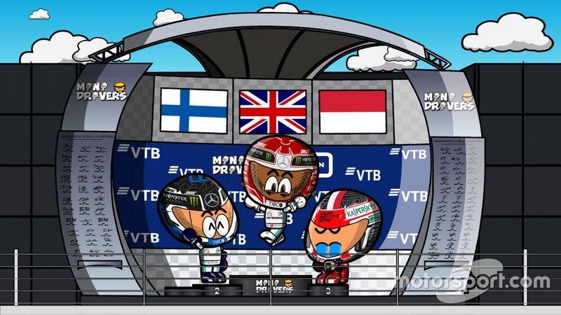 El GP de Rusia de F1 2019, por MiniDrivers