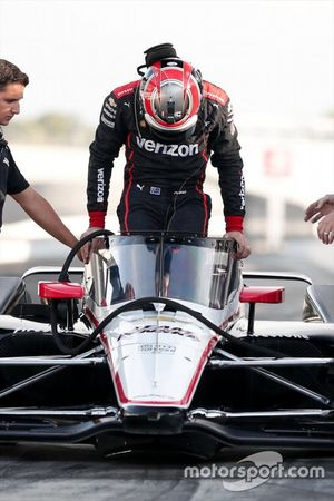 Will Power, Team Penske Chevrolet, aeroscreen ile
