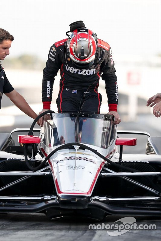 Will Power, Team Penske Chevrolet with aeroscreen