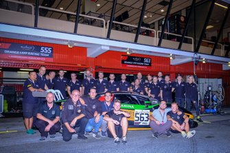 #563 Orange 1 FFF Racing Team Lamborghini Huracan GT3 EVO: Andrea Caldarelli, Marco Mapelli, Albert Costa