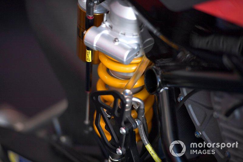 Detalle de la Tech3 E-Racing