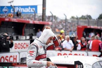 Nico Müller, Audi Sport Team Abt Sportsline nel parco chiuso
