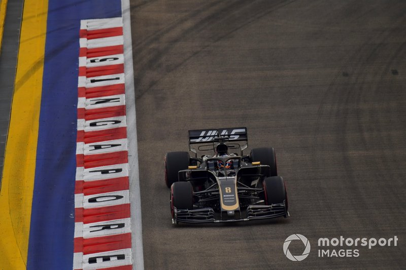 11 - Romain Grosjean, Haas VF-19