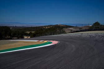Corkscrew, empty track