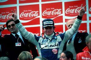 Le vainqueur Didier Pironi, Ligier