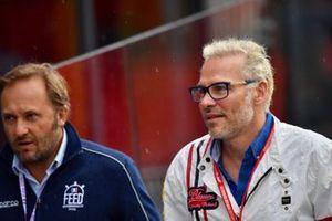 Former World Champion Jacques Villeneuve