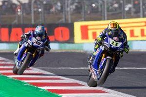Sandro Cortese, GRT Yamaha WorldSBK, Marco Melandri, GRT Yamaha WorldSBK