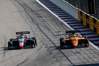 Leonardo Pulcini, Hitech Grand Prix and Alexander Peroni, Campos Racing