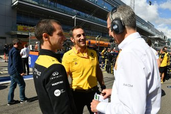 Cyril Abiteboul, Managing Director, Renault F1 Team