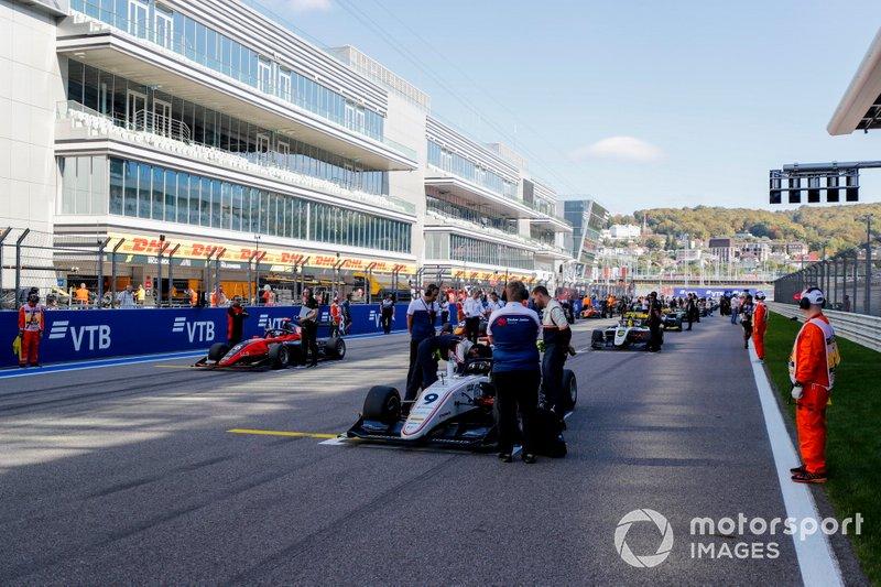 Raoul Hyman, Sauber Junior Team by Charouz e Richard Verschoor, MP Motorsport