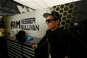 #12 AIM Vasser Sullivan Lexus RC F GT3, GTD: Frank Montecalvo