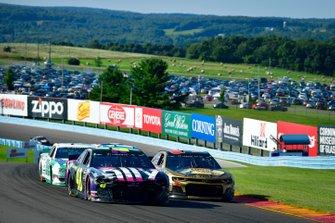 Jimmie Johnson, Hendrick Motorsports, Chevrolet Camaro Ally, Daniel Hemric, Richard Childress Racing, Chevrolet Camaro Caterpillar