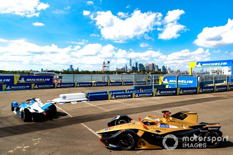 Antonio Felix da Costa, BMW I Andretti Motorsports, BMW iFE.18 Jean-Eric Vergne, DS TECHEETAH, DS E-Tense FE19