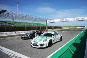 Moritz Sager, Dinamic Motorsport, e Marco Parisini, Team Malucelli