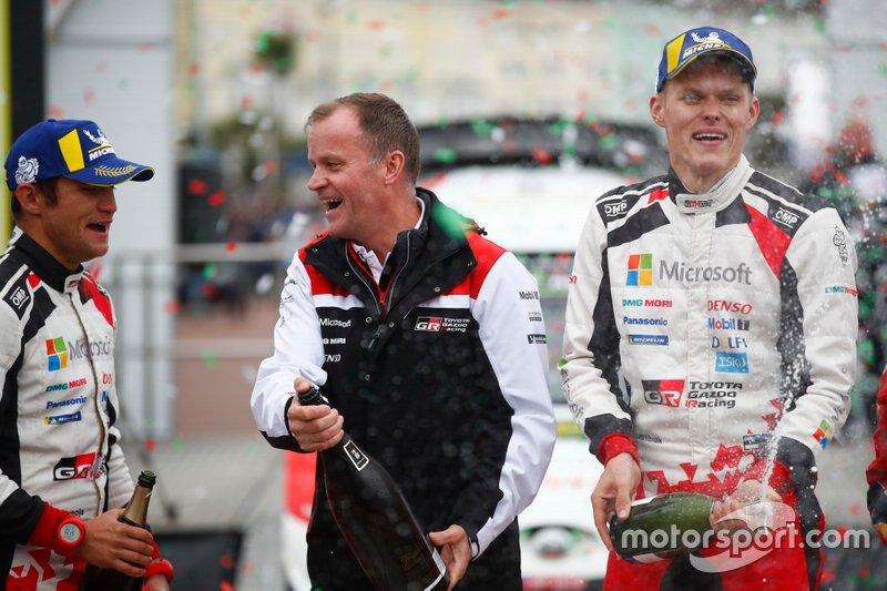 Ott Tänak, Martin Järveoja, Toyota Gazoo Racing WRT Toyota Yaris WRC con Tommi Makinen, Toyota Gazoo Racing