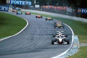 Mika Hakkinen, McLaren ve David Coulthard, McLaren