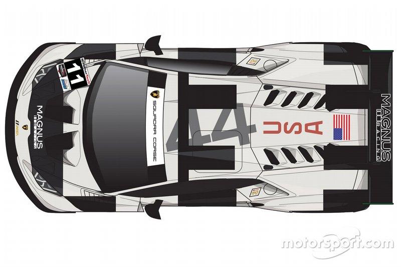 Livrea Magnus Racing Apollo 11, Lamborghini Huracán GT3 EVO