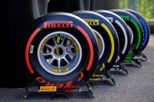 Pirelli tyres colors range