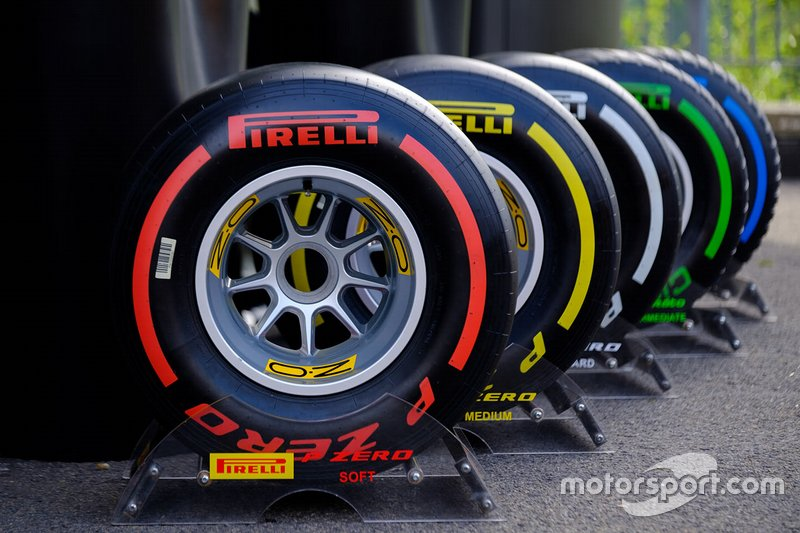 Rango de colores de los Pirelli