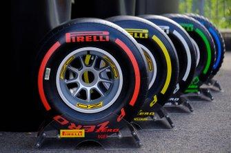 La gamma di pneumatici Pirelli