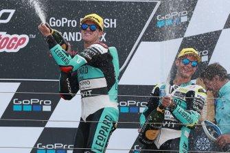 Podium: race winner Marcos Ramirez, Leopard Racing, third place Lorenzo Dalla Porta, Leopard Racing