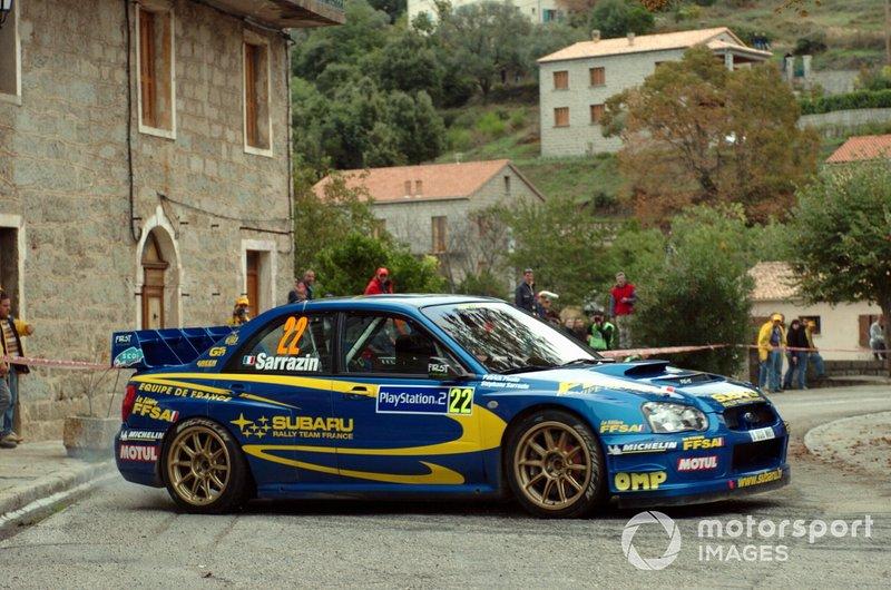 Стефан Сарразен и Патрик Пивато, Equipe de France FFSA, Subaru Impreza WRC