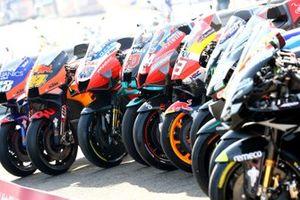 MotoGP-motoren in de line-up