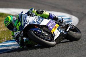 Eric Granado pilota a Energica Ergo Corsa da equipe Avintia Sponsorama