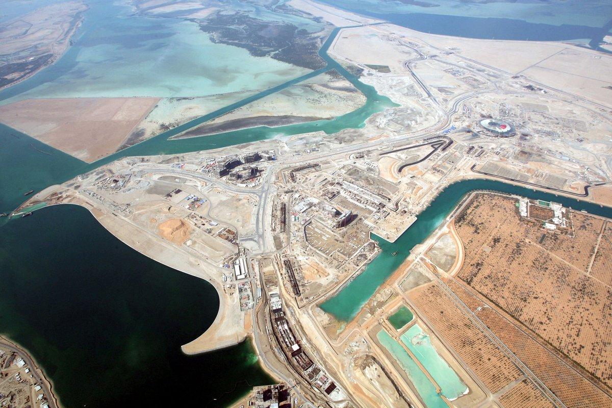 Abu Dhabi 2009: Die teuerste Strecke von oben