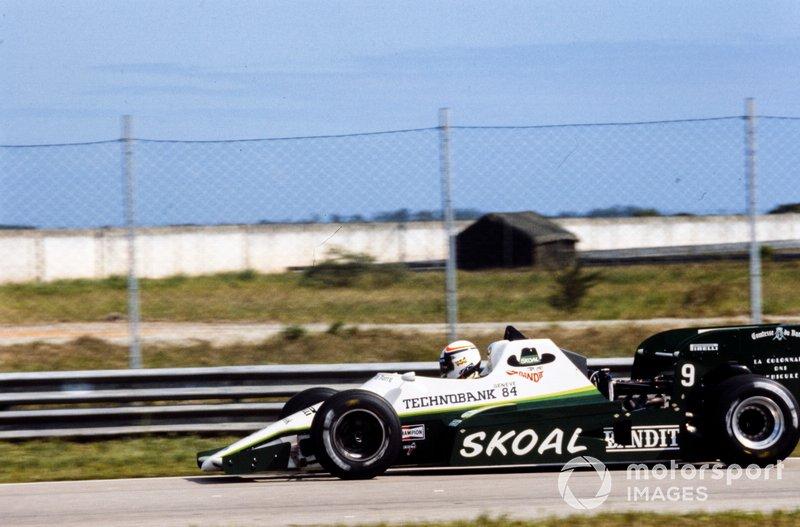 Philippe Alliot (109 GPs)