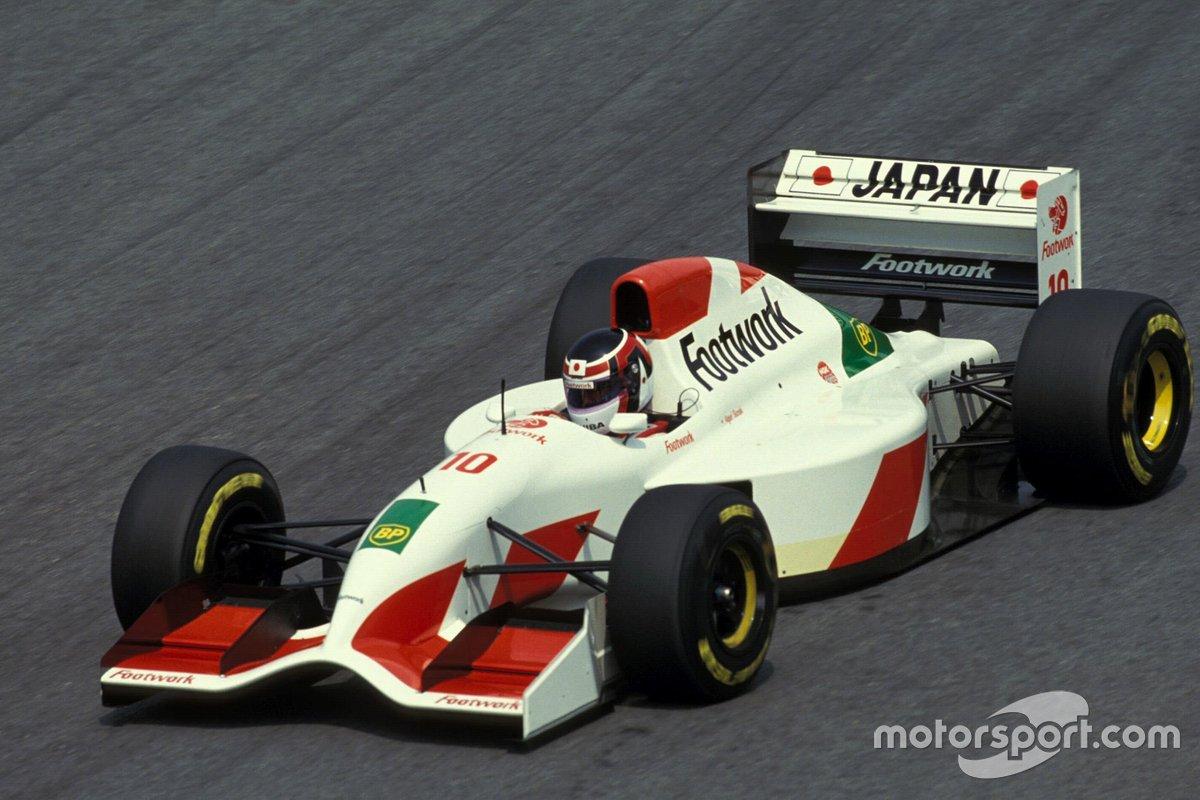 Aguri Suzuki, Footwork FA14 Mugen-Honda