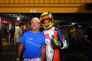 Rubens e Dudu Barrichello