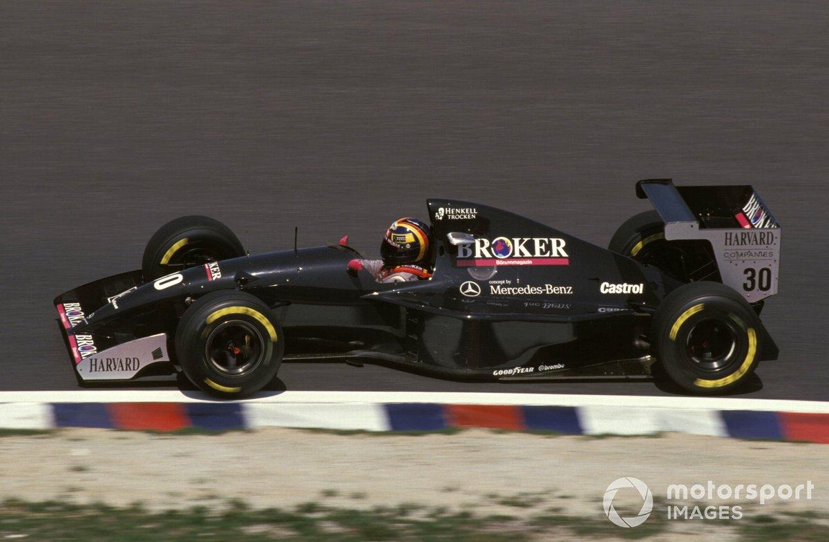 Heinz-Harald Frentzen, Sauber C13 Mercedes