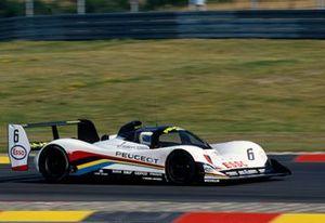 Keke Rosberg, Yannick Dalmas, Peugeot 905 Evo 1