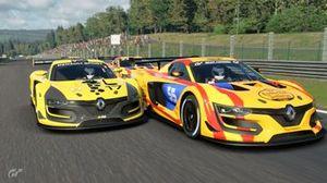 Sainz vs. Ocon en Gran Turismo Sport