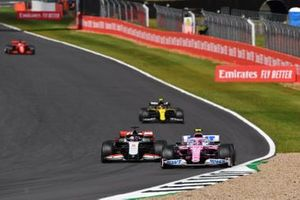 Lance Stroll, Racing Point RP20, Romain Grosjean, Haas VF-20, Esteban Ocon, Renault F1 Team R.S.20