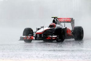 Jenson Button, McLaren MP4-26 Mercedes