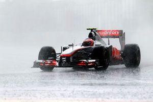 Jenson Button, McLaren MP4-26 Mercedes