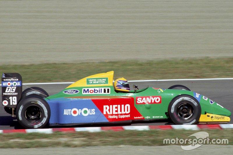 #19: Roberto Moreno (Benetton)