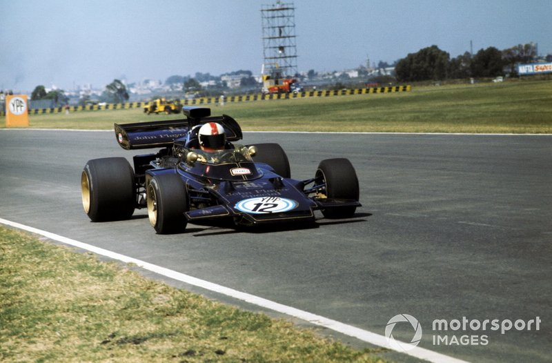 Dave Walker, Lotus 72D, GP d'Argentina del 1972