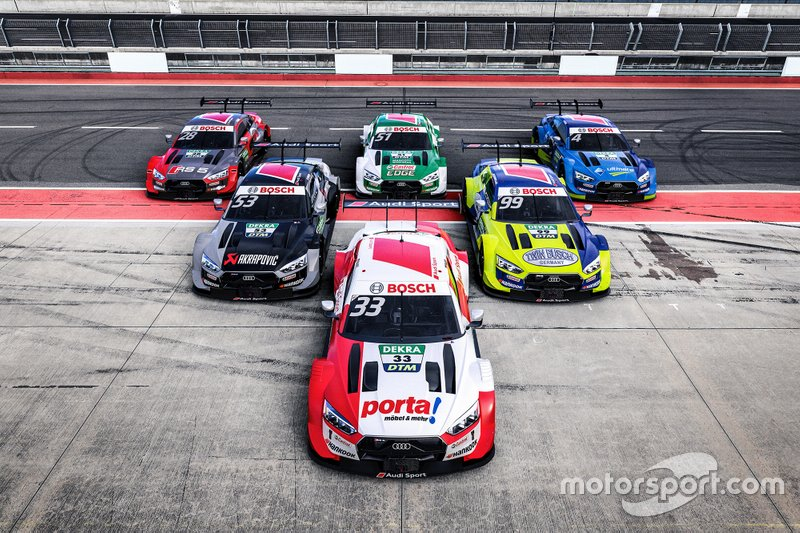 Audi Sport liveries for 2020 DTM season