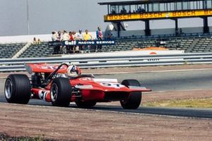 Chris Amon, March 701 Ford in the spare car